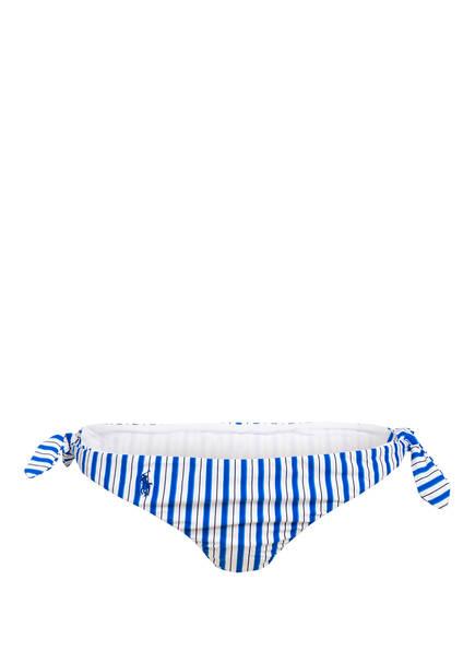 POLO RALPH LAUREN Bikini-Hose COASTAL STRIPE, Farbe: BLAU/ WEISS (Bild 1)