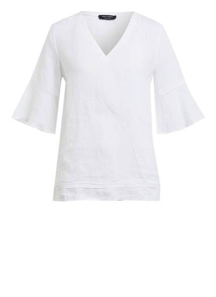 Marc O'Polo Blusenshirt aus Leinen , Farbe: WEISS (Bild 1)