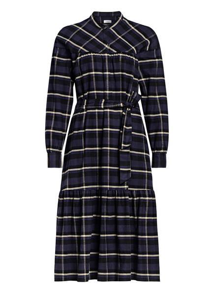 CLOSED Kleid JOENNA, Farbe: BLAU/ SCHWARZ/ BEIGE KARIERT (Bild 1)