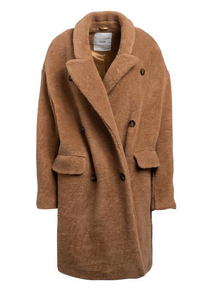 CLOSED Teddyfell-Mantel HERBY , Farbe: CAMEL (Bild 1)