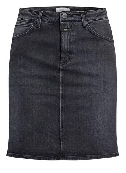 CLOSED Jeansrock SHEMMETT, Farbe: DGY DARK GREY (Bild 1)