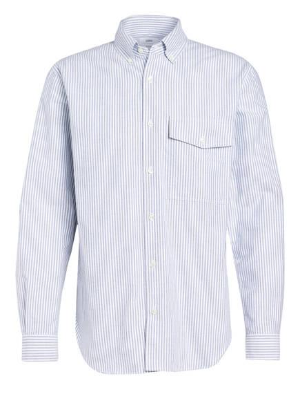 CLOSED Hemd Relaxed Fit, Farbe: WEISS/ BLAUGRAU GESTREIFT (Bild 1)