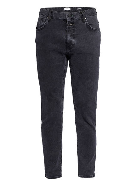 CLOSED Jeans DROP CROPPED Slim Fit, Farbe: DGY DARK GREY (Bild 1)