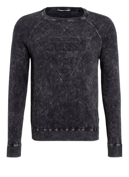 GUESS Sweatshirt, Farbe: DUNKELGRAU (Bild 1)