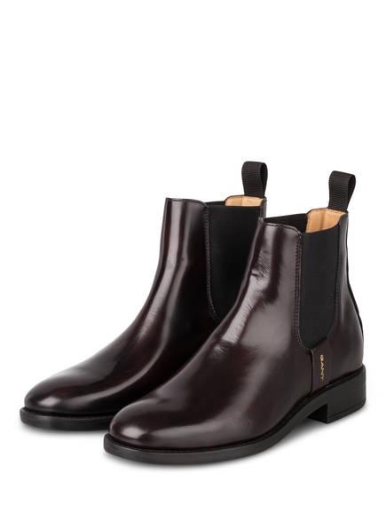 GANT Chelsea-Boots FAYY, Farbe: DUNKELROT (Bild 1)