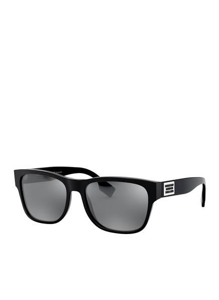 BURBERRY Sonnenbrille BE4309, Farbe: 3001Z3 - SCHWARZ/ GRAU POLARISIERT (Bild 1)