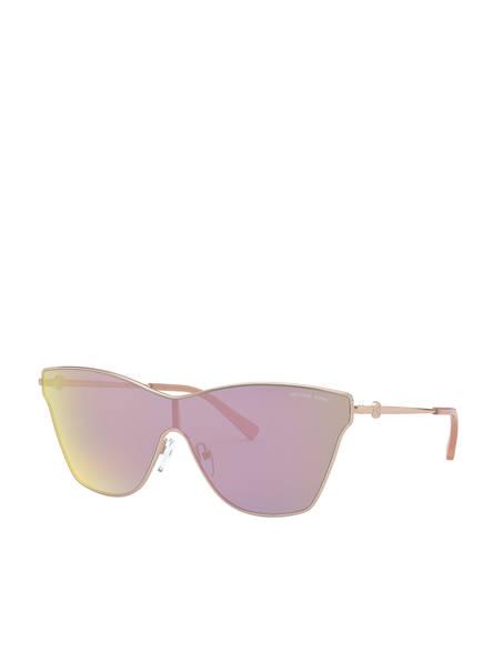 MICHAEL KORS Sonnenbrille MK1063 LARISSA, Farbe: 11084Z - ROSÉ/ GRAU VERSPIEGELT  (Bild 1)