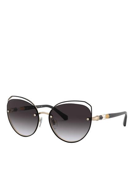 BVLGARI Sunglasses Sonnenbrille BV6136B, Farbe: 20338G - SCHWARZ/ GRAU VERLAUF (Bild 1)