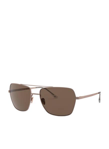 EMPORIO ARMANI Sonnenbrille AR6105    , Farbe: 300673 - MATT SILBER/ BRAUN (Bild 1)
