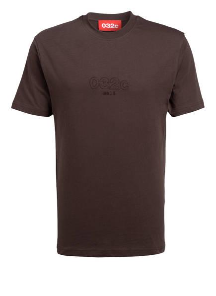 032c T-Shirt, Farbe: BRAUN (Bild 1)