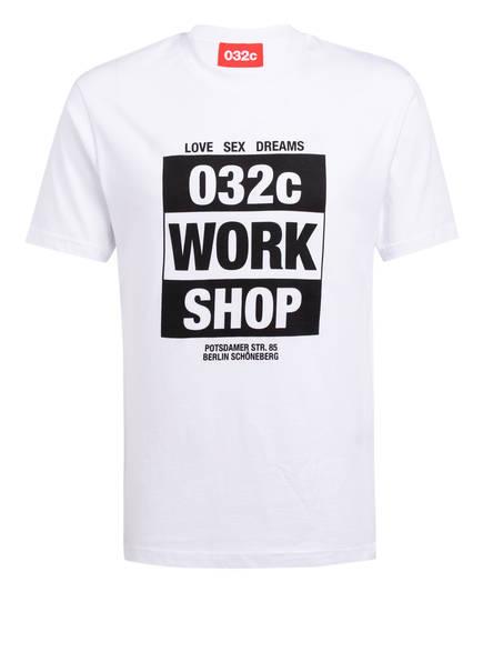 032c T-Shirt , Farbe: WEISS (Bild 1)