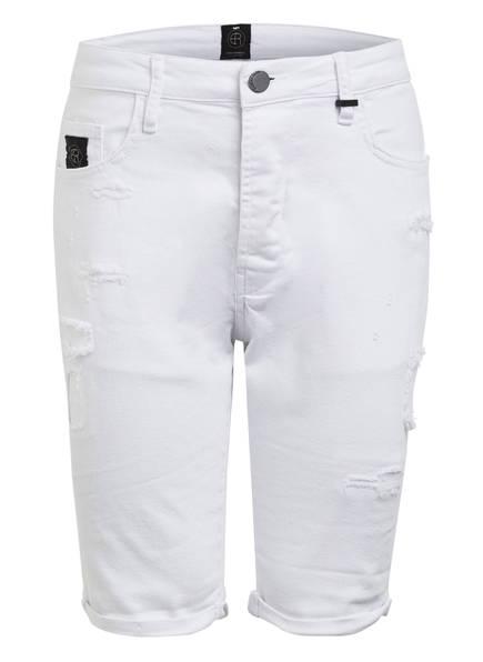 ER ELIAS RUMELIS Destroyed Jeans-Shorts JEO Loose Fit, Farbe: 479 SNOW WHITE (Bild 1)