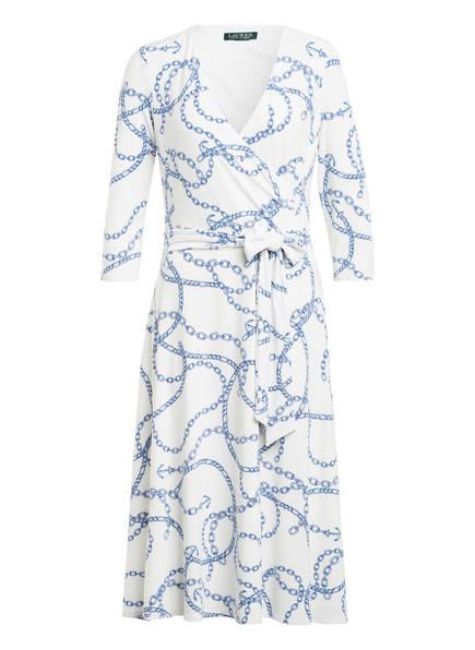LAUREN RALPH LAUREN Kleid mit 3/4-Arm , Farbe: WEISS/ BLAU (Bild 1)