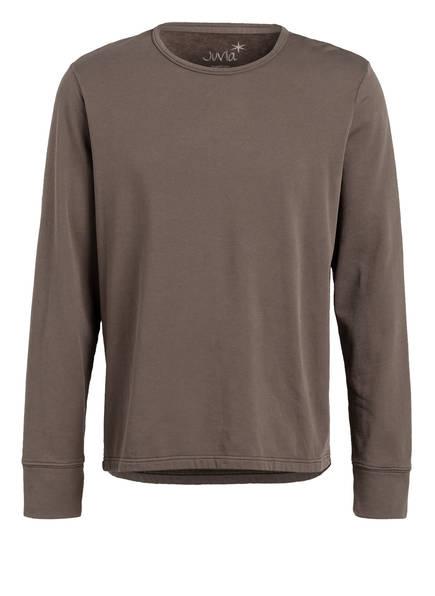 Juvia Sweatshirt, Farbe: DUNKELBRAUN (Bild 1)