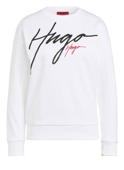 HUGO Sweatshirt NACINIA, Farbe: WEISS (Bild 1)