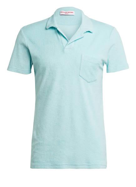 ORLEBAR BROWN Frottee-Poloshirt TERRY, Farbe: HELLBLAU (Bild 1)