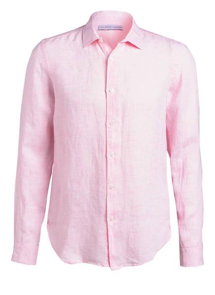 ORLEBAR BROWN Leinenhemd GILES Tailored Fit, Farbe: ROSA MELIERT (Bild 1)