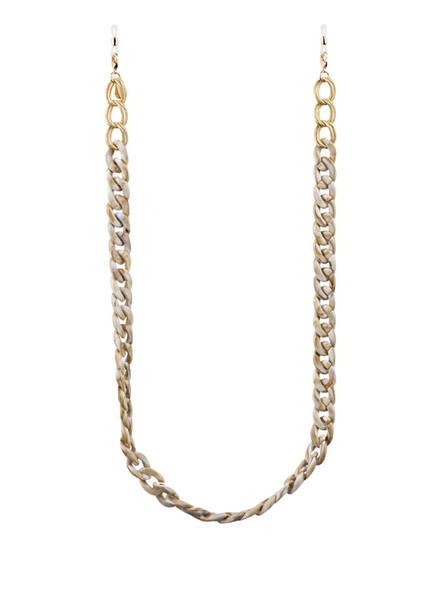 CHEEKY CHAIN MUNICH Brillenkette FRIDA , Farbe: CREME/ GOLD (Bild 1)