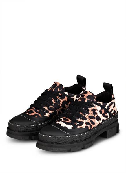 GANNI Sneaker, Farbe: SCHWARZ/ BEIGE/ CREME (Bild 1)