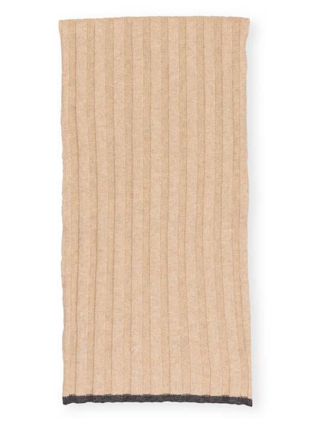 BRUNELLO CUCINELLI Cashmere-Schal, Farbe: BEIGE (Bild 1)
