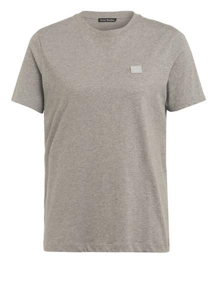 Acne Studios T-Shirt ELLISON FACE, Farbe: GRAU MELIERT (Bild 1)