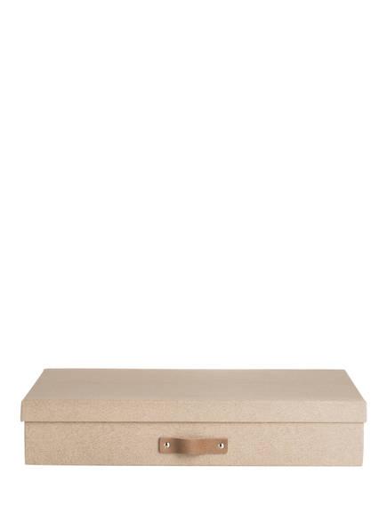 BIGSO BOX OF SWEDEN Aufbewahrungsbox SVERKER, Farbe: BEIGE (Bild 1)