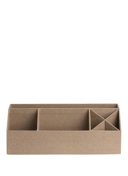 BIGSO BOX OF SWEDEN Schreibtisch-Organizer ELISA, Farbe: HELLBRAUN (Bild 1)