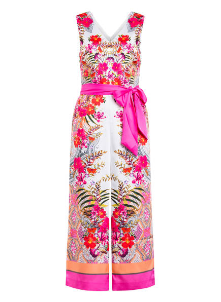 TED BAKER Jumpsuit SOLANA , Farbe: WEISS/ PINK/ ROT (Bild 1)