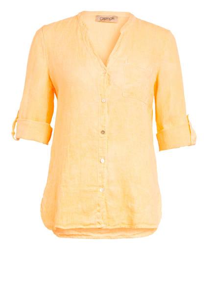 CARTOON Hemdbluse aus Leinen, Farbe: NEONORANGE (Bild 1)