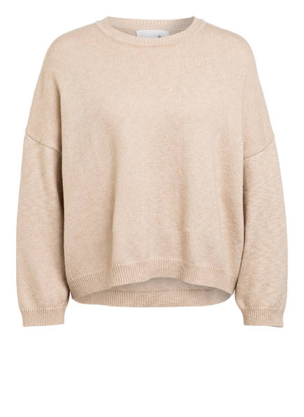 Juvia Oversized-Pullover, Farbe: BEIGE (Bild 1)