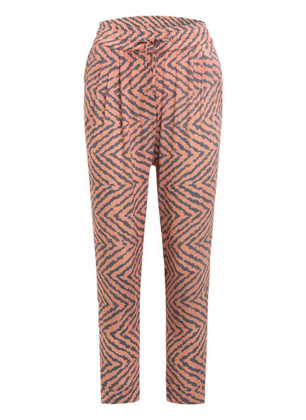 Juvia 7/8-Sweatpants, Farbe: LACHS/ GRAU (Bild 1)