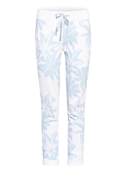 Juvia Sweatpants, Farbe: WEISS/ HELLBLAU (Bild 1)