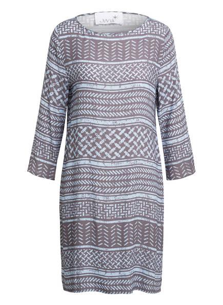 Juvia Kleid mit 3/4-Arm, Farbe: HELLBLAU/ GRAU (Bild 1)