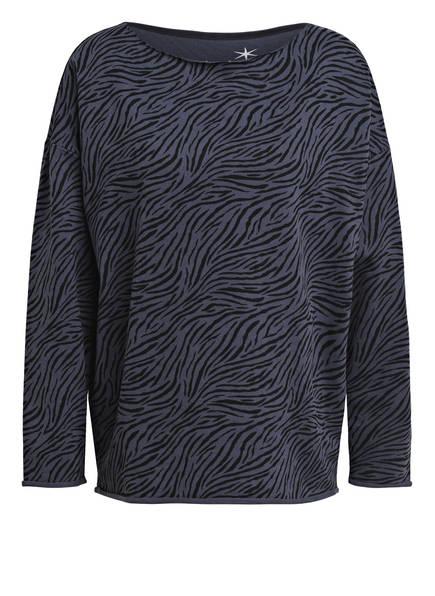 Juvia Sweatshirt , Farbe: BLAUGRAU/ SCHWARZ (Bild 1)