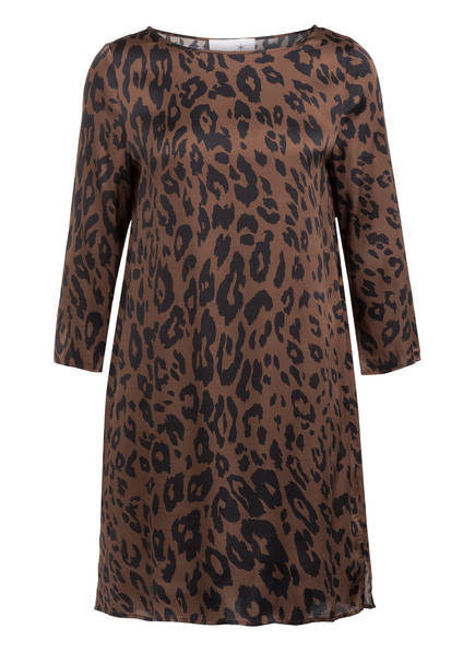 Juvia Kleid mit 3/4-Arm , Farbe: BRAUN/ SCHWARZ (Bild 1)