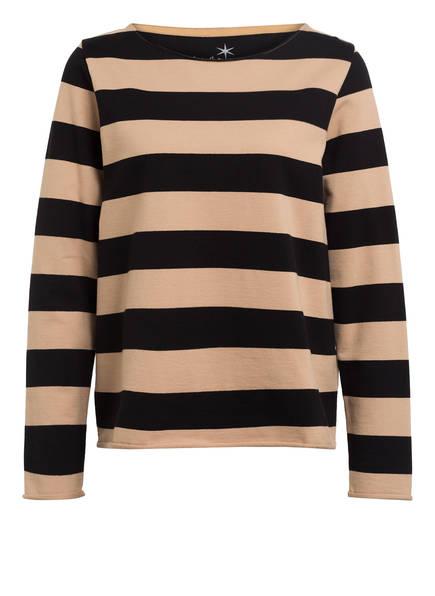 Juvia Sweatshirt, Farbe: SCHWARZ/ BEIGE (Bild 1)