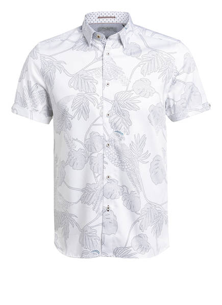 TED BAKER Halbarm-Hemd DOWNDOG Extra Slim Fit , Farbe: WEISS (Bild 1)