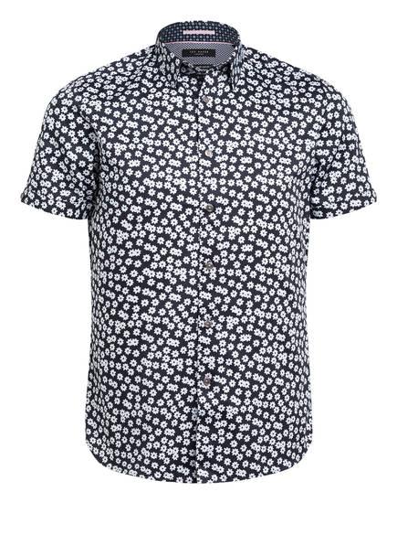 TED BAKER Halbarm-Hemd RELEX Slim Fit, Farbe: BLAU/ WEISS (Bild 1)