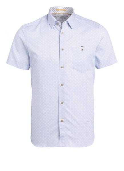 TED BAKER Halbarm-Hemd OPOLY Extra Slim Fit, Farbe: HELLBLAU/ WEISS (Bild 1)