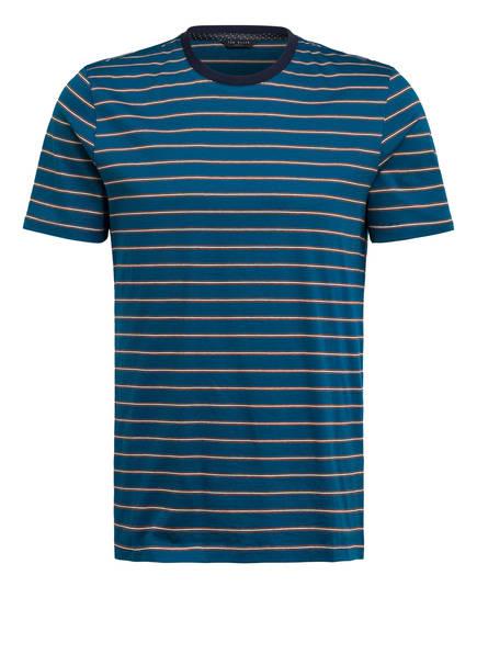 TED BAKER T-Shirt CHI, Farbe: BLAU/ ORANGE/ WEISS GESTREIFT (Bild 1)