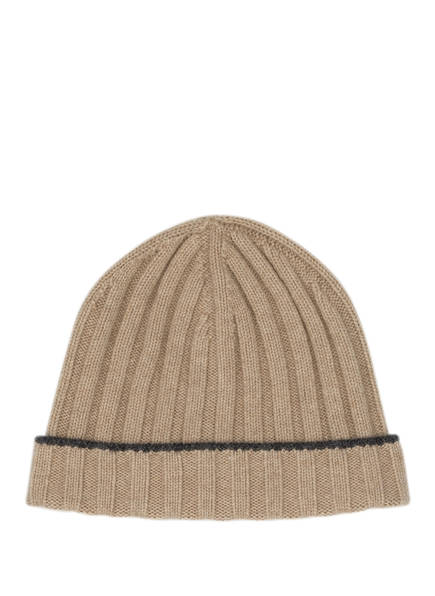 BRUNELLO CUCINELLI Cashmere-Mütze, Farbe: BEIGE (Bild 1)