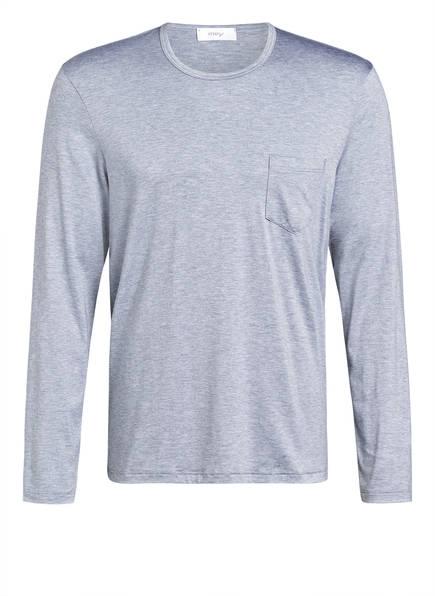 mey Lounge-Shirt Serie JEFFERSON, Farbe: HELLGRAU MELIERT (Bild 1)