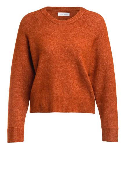SAMSØE  SAMSØE Pullover mit Alpaka, Farbe: DUNKELORANGE (Bild 1)