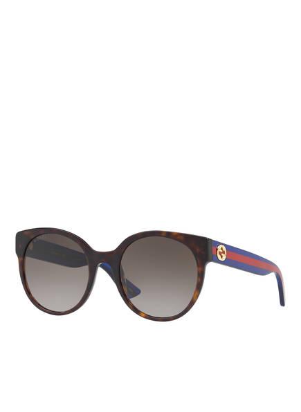 GUCCI Sonnenbrille GC000984, Farbe: 4402D1 - HAVANA/ BRAUN VERLAUF (Bild 1)