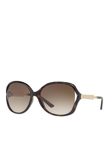 GUCCI Sonnenbrille GC001001, Farbe: 4402D1 HAVANA/ BRAUN VERLAUF (Bild 1)