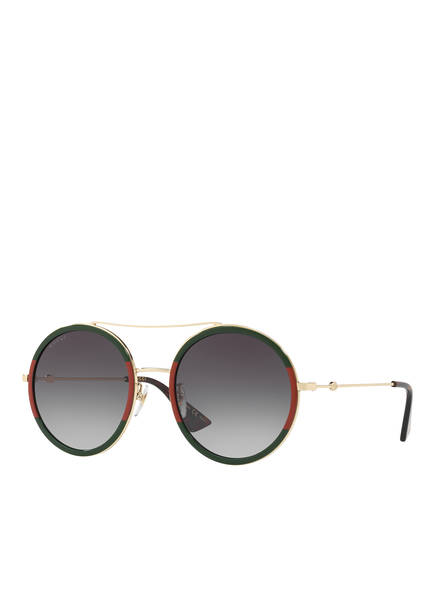 GUCCI Sonnenbrille GC000994, Farbe: 4470J1 - GOLD/ GRAU VERLAUF (Bild 1)