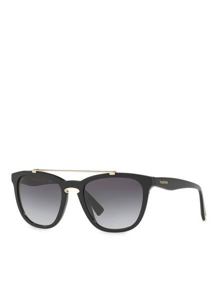 VALENTINO Sonnenbrille VA4002, Farbe: 50018G - SCHWARZ/ SMOKE GRADIENT (Bild 1)