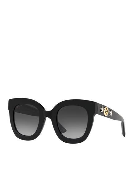 GUCCI Sonnenbrille GC001103, Farbe: 1330L8 - SCHWARZ/ GRAU  (Bild 1)