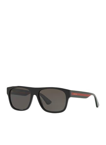 GUCCI Sonnenbrille GC001147, Farbe: 1330M1 - SCHWARZ/ SCHWARZ (Bild 1)