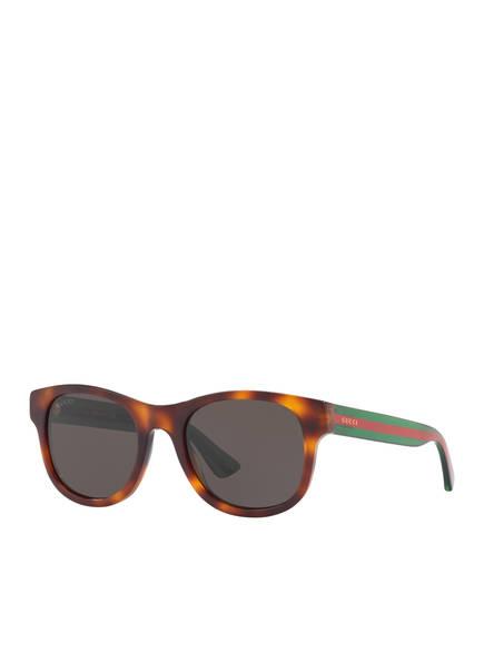 GUCCI Sonnenbrille GC000967, Farbe: 4402L1 - HAVANA/ GRAU (Bild 1)